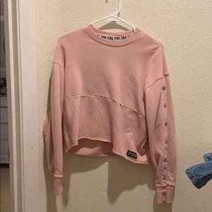 Women's XS Pink Sweater